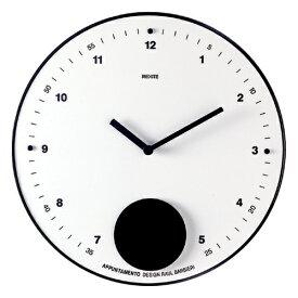 【送料無料】REXITE レキサイト APPUNTAMENTO 白アプンタメント 振り子時計ギフトに大人気!イタリア製デザイナーズ時計
