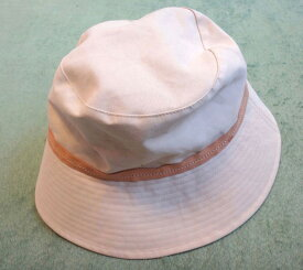 COACH コーチ 帽子 オフホワイト サイズM/L【中古】