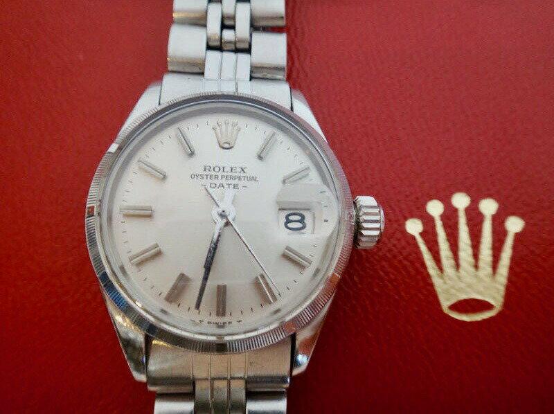 ROLEX ロレックス 腕時計 レディース 6519 オイスターパーペチュアル 旧J オーバーホール済み【中古】t-004