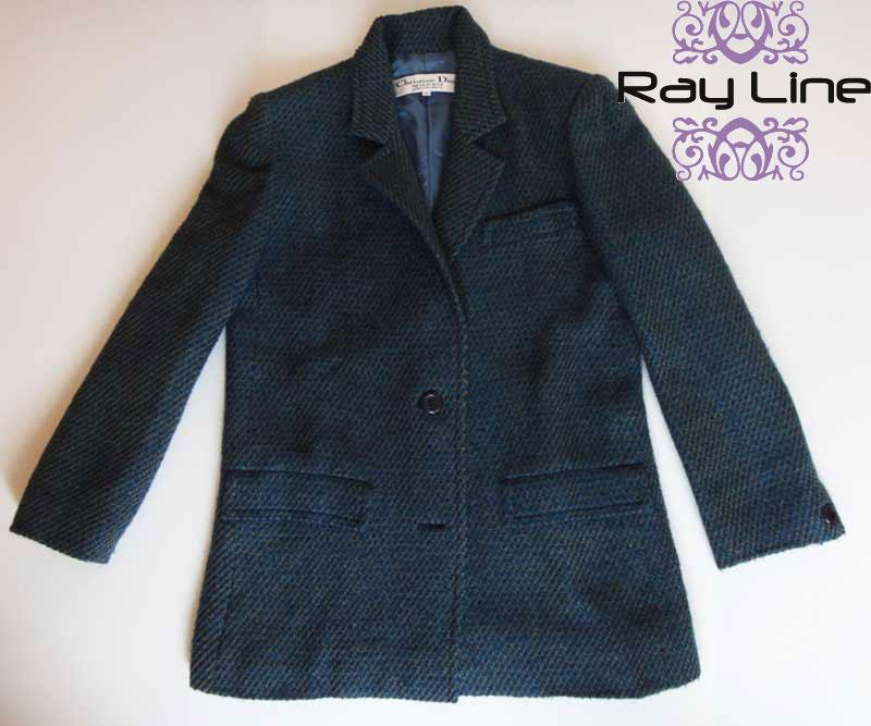@Christian Diorクリスチャン・ディオール スーツ ジャケット・巻きスカートセット 古着 【中古】t-003