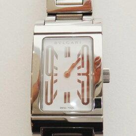 BVLGARI ブルガリ 腕時計 メンズ レッタンゴロ QZ RT39S 超美品【中古】t-004