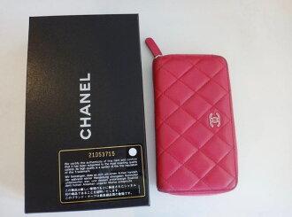 포인트 5배 신품미사용품 샤넬 4련키 케이스 코코 시그네쳐 캐비어 스킨 핑크 진짜 브랜드 선물 c-002 CHANEL