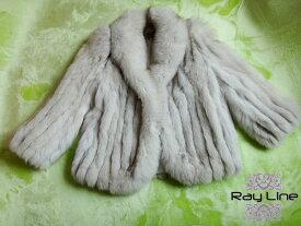SAGA FOXコート サガフォックス 毛皮 コート ホワイト系 サイズ14 古着 防寒 暖かい MINK【中古】t-003 古着 防寒 暖かい【中古】t-003