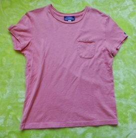 バーバリー Tシャツ Burberry バーバリー ブルーレーベル Tシャツ ピンク Mサイズ 古着 【中古】t-003