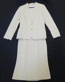 MaxMara マックスマーラ セットアップ スーツ スカート ベージュ サイズ36 古着 クリーニング済【中古】t-003