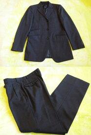 バーバリー メンズ パンツスーツ Burberry バーバリー black label ブラックレーベル メンズ パンツスーツ グレー サイズ38 R 美品 古着 【中古】t-003 y16-3415 00