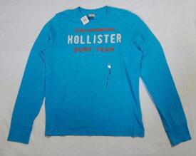 Hollister ホリスター 長袖 Tシャツ ブルー サイズXL 未使用品 古着 【中古】t-003