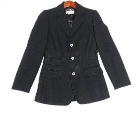 Salvatore Ferragamoフェラガモ レディース セットアップ スカート スーツ 黒 サイズ36 ウール100% 古着 【中古】t-003