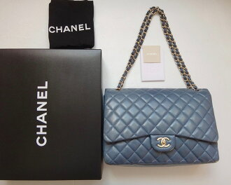 CHANEL Chanel matelasse chain shoulder bag decamatelasse 34 lambskin gray Lady's bag bag bag bag c1001086◆◆