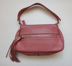 CHANEL BAG シャネル ショルダーバッグ キャビアスキン ピンク レディース ハンド 鞄 かばん 【中古】