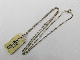 CHANEL シャネル レディース ネックレス ココマーク チェーン G金具ー60cm 中古 c-001 c17-4503