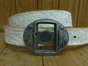 バックル 40mm ベルト用 レザーベルトバックルのみ ♪セール特価♪【中国製・メキシコ製】