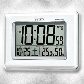 【数量限定即出荷】【送料無料】【SEIKO/セイコー】 電波掛置兼用時計 SQ424W《電波時計・置時計・掛け時計》 ■送料無料※北海道・九州・沖縄・離島は別途送料(1080円〜2160円)