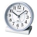 【送料無料】SEIKO CLOCK (セイコークロック) 目覚まし時計 電波 アナログ 薄青パール KR328L ■送料無料※北海道・…