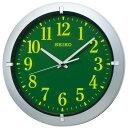 【送料無料】SEIKO CLOCK (セイコークロック) 掛け時計 アナログ 集光樹脂文字板 銀色メタリック KX618S ■送料無料…