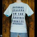 Tシャツ/メンズ/レディース/6.2oz半袖Tシャツ : とり電線 : アクアブルー