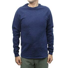 """【送料無料】 """"Californian Tees"""" RED WHITE BLUE brand U.S.A.MADE 6oz CrewNeck Long Sleeve Tee MENS メンズ LADIES レディース オールシーズン対応 ウォッシュ加工 アメリカ製 Navy S-L"""