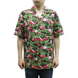 Robert J. Clancey 258.110 Washable Rayon Poplin Aloha Shirt アロハ シャツ ウォッシャブル レーヨン ポプリン 半袖 MENS メンズ ハワイ製 Black ブラック S-L