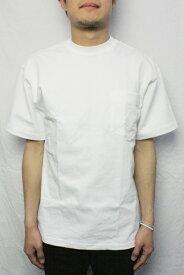 【ネコポス便対応】CAMBER キャンバー #302 ポケットTシャツ HEAVYWEIGHT POCKET TEE (COLOR : WHITE)