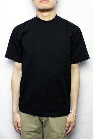 【ネコポス便対応】CAMBER キャンバー #302 ポケットTシャツ HEAVYWEIGHT POCKET TEE (COLOR : BLACK)