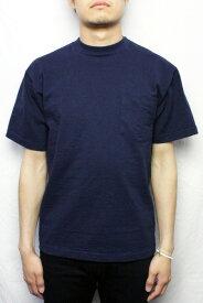 【ネコポス便対応】CAMBER キャンバー #302 ポケットTシャツ HEAVYWEIGHT POCKET TEE (COLOR : NAVY)