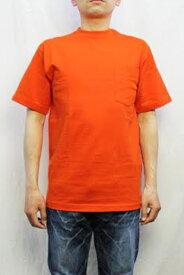 【ネコポス便対応】CAMBER キャンバー #302 ポケットTシャツ HEAVYWEIGHT POCKET TEE (COLOR : BURNT ORANGE)
