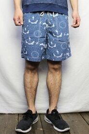 """グレイヤーズ """"Grayers"""" / サーフパンツ Batik Print Swim Trunk バティックプリント(COLOR : BLUE) PS01S16BAT【05P03Sep16】"""