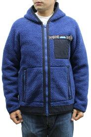 KAVU カブー Shasta Jacket シャスタジャケット 19820709 ボア フリース ジャケット 防寒 アウトドア WINTER 冬物 MENS 男性用 Blue ブルー XS-S