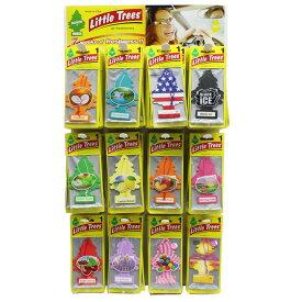 【12枚までネコポス便対応】 Little Trees リトルツリー Air Fresheners エアー フレッシュナー 芳香 消臭 Fragrance アメリカ製 12種類の香り
