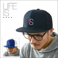 LIFEIS...[ライフイズ]MESHCAP[DX-02]メッシュキャップMEN'S/LADY'S