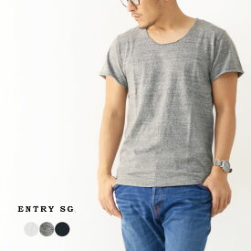 ENTRY SG [エントリーエスジー] GIG MODEL [T161U] とても着心地の良いTシャツ・半袖・ [MEN'S]