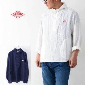 DANTON [ダントン] M's L/S LINEN CLOTH SHIRTS [JD-3568KLS] 長袖リネンクロスシャツ・リネンシャツ・麻シャツ・長袖シャツ・無地・メンズ・男性用・紳士・MEN'S