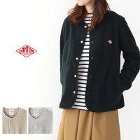 DANTON[ダントン]W'sFLEECENOCOLLARJACKET[JD-8911]フリースノーカラージャケット・スナップボタン・アウター・羽織り・レディース・女性用・婦人服・LADY'S