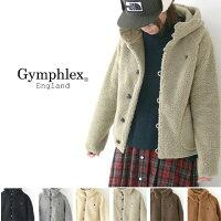 Gymphlex[ジムフレックス]Wボアパーカージャケット[J-1185PL]ポリエステル・ダウンジャケットLADY'S