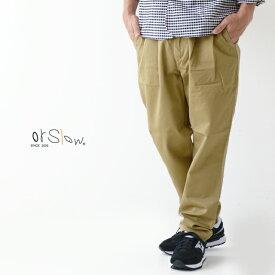 【5%OFF クーポン発行中】orslow [オアスロウ] BILLY JEAN [01-5560-40] ビリージーン・パンツ・チノパンツ・MEN'S