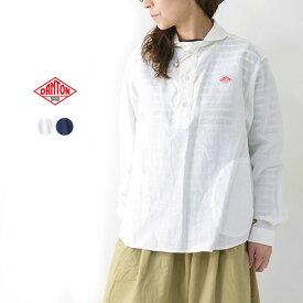 DANTON [ダントン] L/S LINEN CLOTH SHIRTS [JD-3564KLS] 長袖クロスシャツ・リネンシャツ・長袖シャツ・無地・レディース・女性用・婦人服・LADY'S