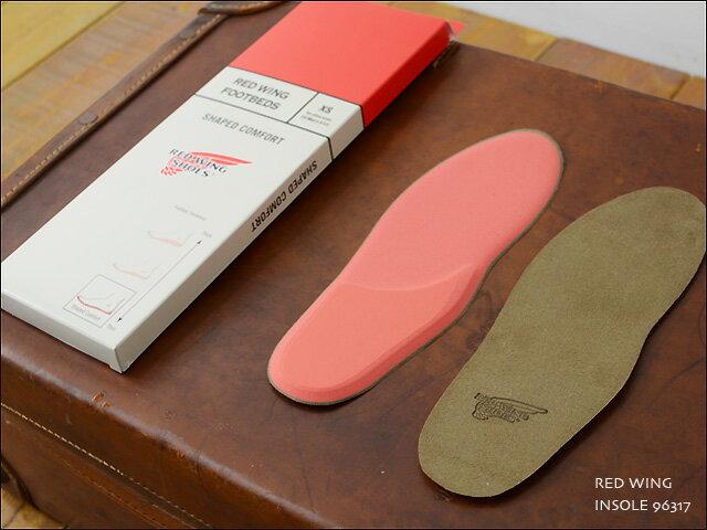 RED WING[レッドウィング] INSOLE SHAPED COMFORT [96317] インソール シェイプト コンフォート / ブーツインソール 中敷 ブーツの履き心地を向上させるフットベッド MEN'S/LADY'S