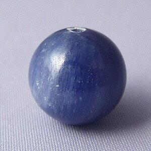 【粒売り】カイヤナイト(藍晶石)・丸12mm・1個【天然石ビーズ】【アクセサリー製作に】