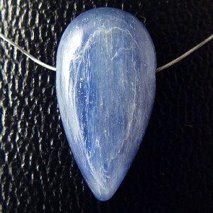 【粒売り】カイヤナイト(藍晶石)・アロウヘッド・1個【天然石ビーズ】【アクセサリー製作に】