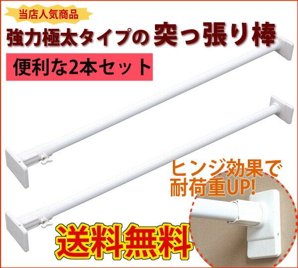 【2本セット】 突ぱりスーパー極太ポール 大 - 平安伸銅工業 NGP-110 ロング つっぱり棒 / 突っ張り棒