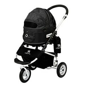 エアバギー フォードッグ ドーム2 スタンダードモデル SMサイズ ブラック ペット用バギー Air Buggy(犬用)【返品・交換不可】 【ポイント10倍】