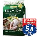 ソルビダ グレインフリー チキン 室内飼育成犬用 5.8kg ソルビダ(SOLVIDA)【正規品】【オーガニック】