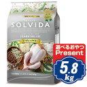 ソルビダ グレインフリー チキン 室内飼育7歳以上用 5.8kg シニア犬用 ソルビダ(SOLVIDA)【正規品】【オーガニック】