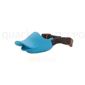 OPPO オッポ quackclosed クァッククローズド ブルー Sサイズ しつけ用口輪