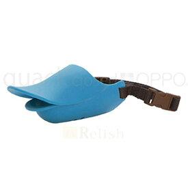 OPPO オッポ quackclosed クァッククローズド ブルー Lサイズ しつけ用口輪