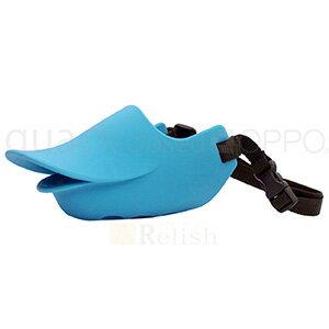 OPPO オッポ quackclosed クァッククローズド ブルー LLサイズ しつけ用口輪