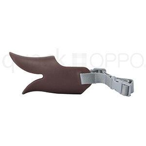 OPPO オッポ quack クァック ブラウン SMサイズ しつけ用口輪