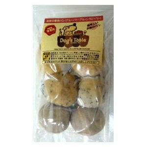 ドッグステーブル お米の果物ミニパン(ブルーベリー・プルーン・ラズベリー) 6個入 (犬用おやつ)