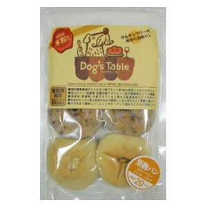 ドッグステーブル お米の果物パン (ブルーベリー・リンゴ・バナナ) 6個入 (犬用おやつ)