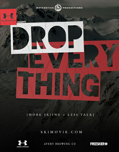 <入荷>SALE OFF!新品Blu-ray!【スキー】 DROP EVERYTHING [Blu-ray/DVD]!【2017/2018新作】<MSP films>